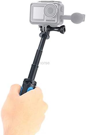 Mini Tripod for DJI Osmo Action Handgrip Extension Pole Extendable Monopod Tripod Selfie Stick for DJI Osmo Pocket for GoPro
