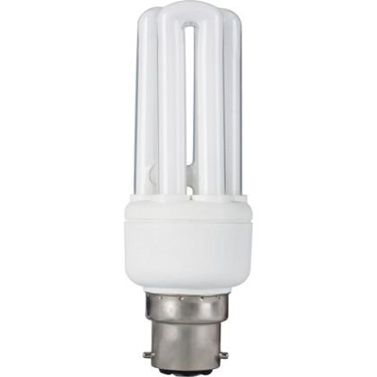 11W BC ENERGY SAVING SPIRAL LIGHT BULB BAYONETTE CAP B22
