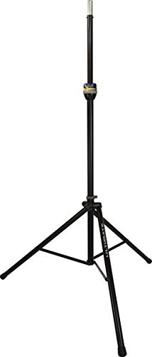 Ultimate Support TS-99B Telelock Lift-Assist Aluminum Speaker Stand with Integrated Speaker Adapter, Extra Height by Ultimate Support