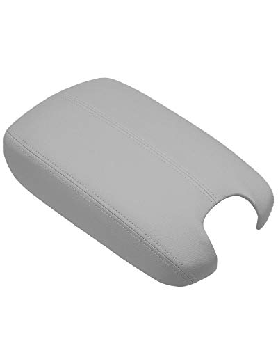 ISSYAUTO Center Console Cover for 2008-2012 Honda Accord Armrest Cover Replacement, Gray