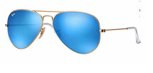 Ray Ban - RB3025 112/17 Aviator Blue Flash - Blue Flash Aviators