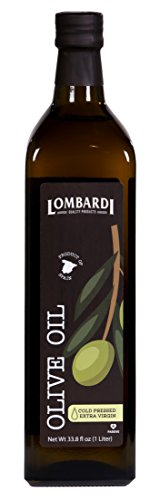 Lombardi Extra Virgin Olive Oil 33.8 fl oz Premium Quality 1 Liter Kosher Product of Spain Cold Pressed for Cooking, Baking, and Salad Dressing by Lombardi (Image #5)'