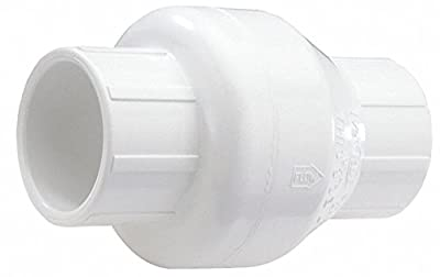 Swing Check Valve, PVC, 1-1/2 In. by NDS