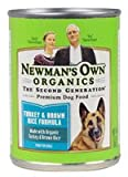 Cheap Newman's Own Organics Premium Dog Food Turkey And Brown Rice — 12.7 oz