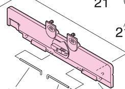 Hp Laserjet 9000 Rg5-5651-030cn Transfer Guide Assembly
