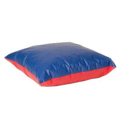 Foamnasium Shredded Foam Soft Play Pillow, Large, Red/Blue
