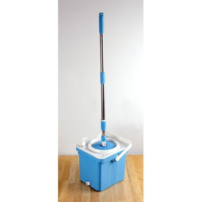 Above Edge AESM01 Foldable Spin Mop Bucket System