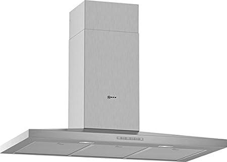 Neff DQBE941N 610 m³/h De pared Acero inoxidable A - Campana (610 m³/h, Canalizado, A, A, C, 61 dB): Amazon.es: Hogar