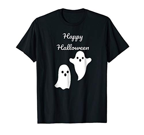Halloween booing ghost t shirt ()