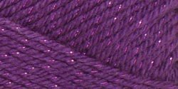 Caron Bulk Buy Simply Soft Party Yarn (3-Pack) Purple Sparkle H97PAR-6 -