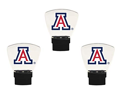 Authentic Street Signs NCAA College LED Night Light - 3 Pack