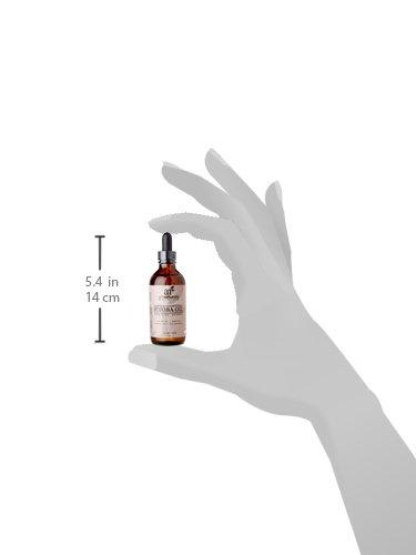 Art Naturals organisches Jojobaöl 120ml, 100% pur, unberührt, kaltgepresst, unraffiniertes organisches Jojobaöl, ideal für sensible, zu Akne neigende Haut - ähnliche Vorteile für Gesicht und Haar wie Arganöl - geruchsfrei