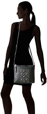 Calvin Klein Classic Pebble Key Item All-Over Pyramid Stud Embellished Crossbody