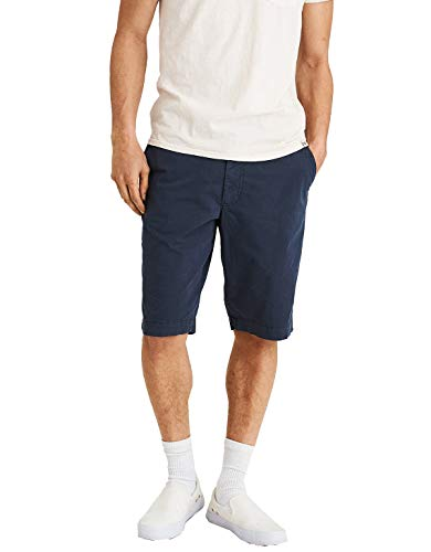 - American Eagle MensNe(X) t Level Longer Length Khaki Navy Short 31