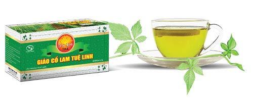 Organic Jiaogulan Gynostemma Pentalhyllum - Herbal Giao Co Lam (1 Box of 25 tea bags) ()