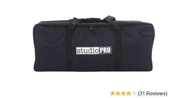 Fovitec Lightweight 30 9.5 x 9 Heavy Duty Durable Nylon Dual Zippers 1x Photography /& Video Film Lighting Equipment Carrying Case -