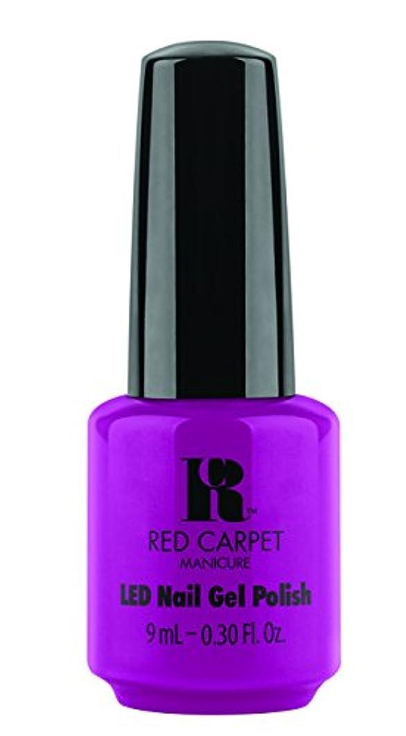 論争畝間スライムRed Carpet Manicure - LED Nail Gel Polish - Wild Child - 0.3oz / 9ml