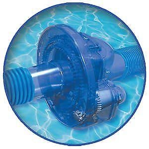 - Solar Sun Rings Aquaquip TWI-100 Twister Pool Hose Rotator for Suction Side Pool Cleaners