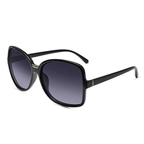 rond protection modèles de féminins lunettes D ZY rétro Mme UV avec de grand soleil cadre polarisées CH lunettes ZYTYJ w07IqWZ