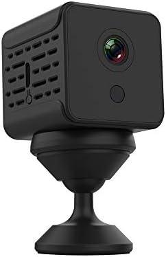 アクションカメラ カマラ・デ・MovimientoデAlmacenamientoエンラNUBE RemotaのコンビジョンNocturna HDのWiFiモビルResoluciónデ1080PDetecciónデMovimiento スポーツカメラ (Color : Black, Size : One size)