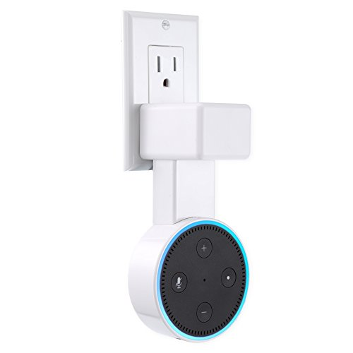 Feiyen Outlet Wall Mount Hanger Holder Stand Only For Amazon Echo Dot 2nd