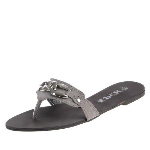 Ital-Design - Caña baja mujer gris - gris