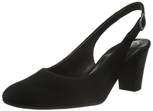 Gabor Shoes 42.260 Damen Slingback Pumps ,Schwarz (47 schwarz) ,39 EU