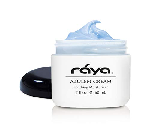 RAYA Azulen Cream (301) | Moisturizing Day and Night Face Cream for Combination and Sensitive Skin | Refines, Tones, and Tightens | Made with Soothing Azulene