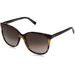 Tommy Hilfiger Women's Th1448s Square Sunglasses, Havana Yellow/Brown Gradient, 56 mm