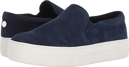 Steve Madden Women's Gills Sneaker Navy Suede 8.5 M US