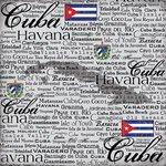 Scrapbook Customs - World Collection - Cuba - 12 x 12 Paper - Scratchy