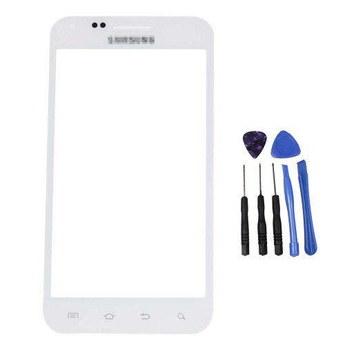 White New Outer Screen Lens Glass for Samsung Galaxy S 2 II S2 Epic 4G D710 TOOL