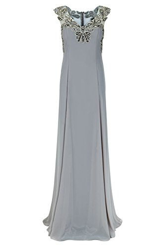 Stone Dalas Style Kleid Damen Stone lange Schal Dynasty 1012725 mit RqPw4UAWwx