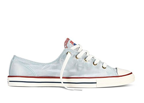 Converse Womens Chuck Taylor Fancy Ox Ankle-high Fashion Sneaker Fountain Blue