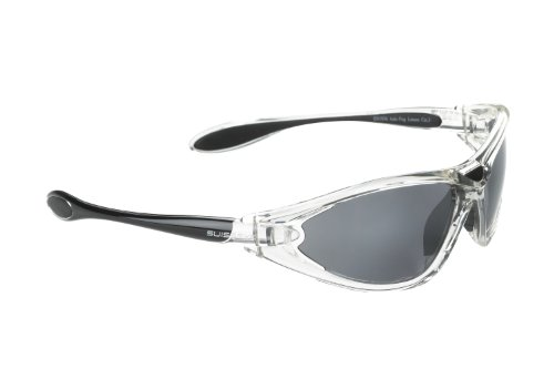 Swiss Eye Constance Sunglasses 3 Changeable Lenses Shatterproof Crystal Black - Sunglasses Swiss Brands
