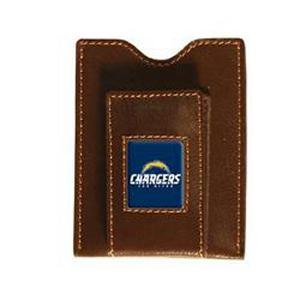 San Diego Chargers Brown Leather Money Clip & ()