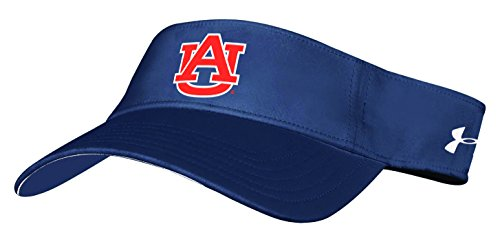 Under Armour NCAA Auburn Tigers Adult Unisex NCAA Renegade Visor, One Size, - College Visor