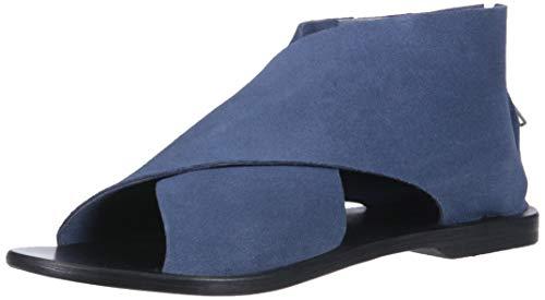 - LFL by Lust for Life Women's L-frejah Flat Sandal, Blue Suede, 9 Medium US