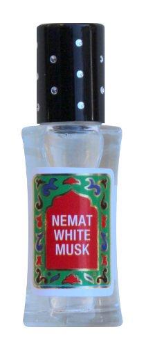 White Musk Scented Oil (White Musk Perfume Oil - White Musk by Nemat Fragrances (10ml /0.34fl Oz))