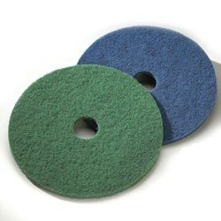 Green Scrubbing Floor Pads 15 5//cs