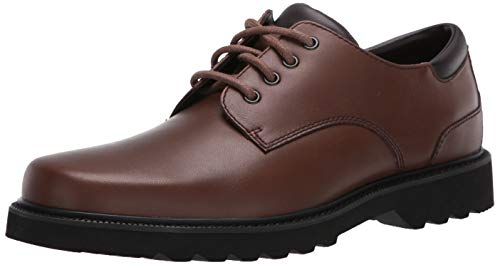Rockport Men's Northfield Oxford-Dark Brown-9 W