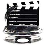 Hollywood Studio Clapboard & Reel Centerpiece