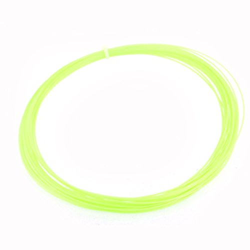 10M 32.8 Ft Long Yellowgreen Badminton Racket Racquet String 0.75mm Gauge