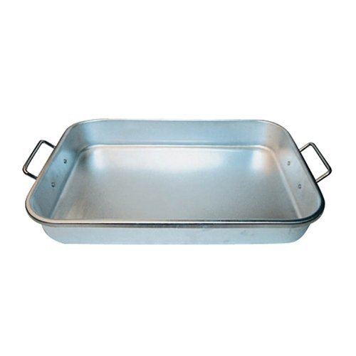Winware 12-Inch by 18-Inch by 2-1/4-Inch Aluminum Bake Pan with Drop Hand by Winco
