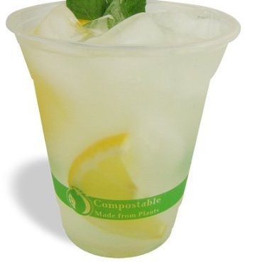 Jaya 100% Compostable PLA Clear Cold Cup 50 Ct