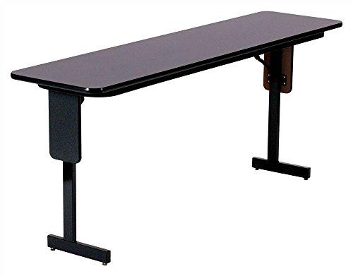 Correll SP1860PX-07 High Pressure Laminate Classroom, Training or Seminar Table with Folding Panel Leg, Rectangular, 18