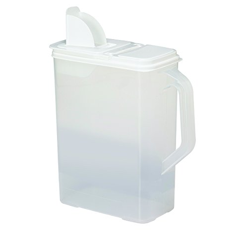 Dry-Food-Storage-Container-8-Quart-Holder-and-Keeper-for-Cereal-Flour-Oatmeal-Rice-Pasta-and-More-Air-Tight-Lid-to-Securely-Store-Food-BPA-Free-and-Made-in-USA-Buddeez-ALL-PURPOSE-DISPENSER