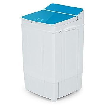 Oneconcept Ecowash Deluxe 4 • Rápida centrifugadora con reducción de Secado • Carga Superior • Capacidad