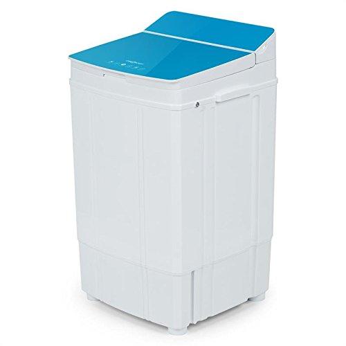Oneconcept Ecowash Deluxe 4 • Rápida centrifugadora con reducción de Secado • Carga Superior • Capacidad 4 kg • Económica • Máx 290 W • Ligera • Móvil • 2 ...