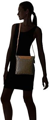 Calvin Klein Dorus Monogram Top Zip Crossbody